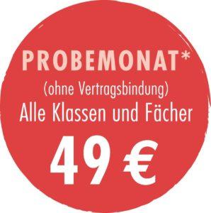 Probemonat Nachhilfe Bochum Dahlhausen